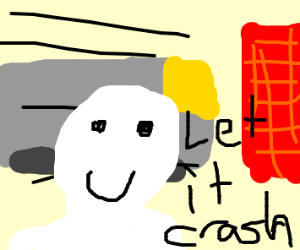 let the train crash