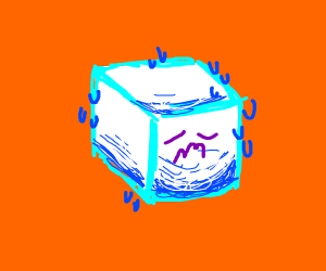 An Endangered Ice Cube
