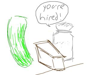 Salt hiring Cucumber