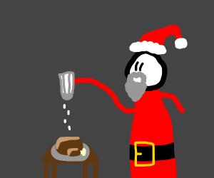Santa is Salting
