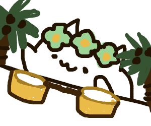 Tropical Bongo Cat
