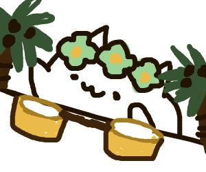 Tropical Bongo Cat