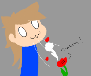 OwO I will consume the life of a flower.