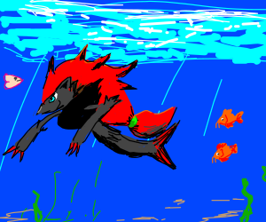 Zoroark Mermaid