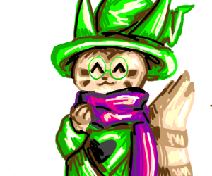 Furret is Wearing Ralsie's Clothes