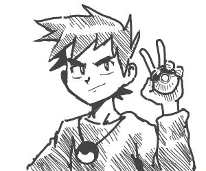 Swaggy Anime Dude