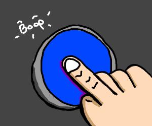 press the blue button