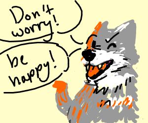 Inspirational Wolf