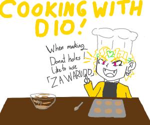 DIO baking donuts
