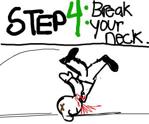 step 3: do a flip