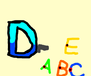 Drawception killed A, B, C, and E