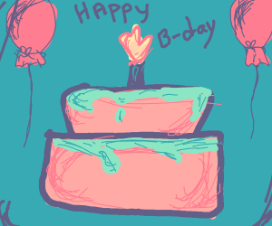 Happy Birthday! (...wait, it actually is. :O)