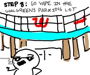 Step 7: skip school