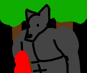 Buff Big Bad Wolf
