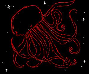 Red Jellyfish Constellation