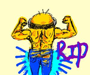 Bara Minon needs new pants