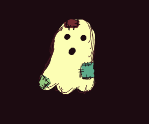 Old patched up ghost