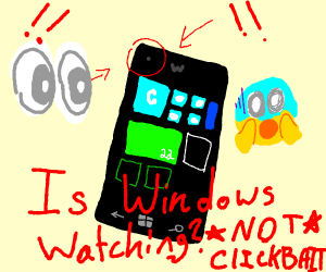 A Windows phone.