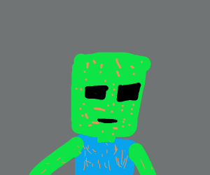 Minecraft Zombie Face