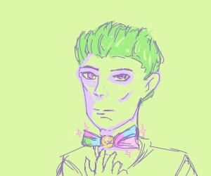 fancy bow tie man