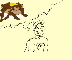 superman wants pancakes