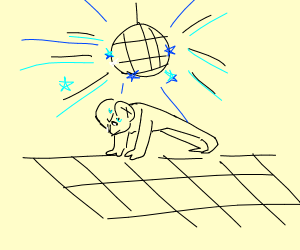 Disco pushups