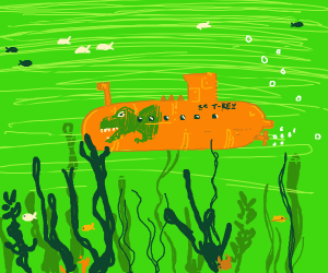 Dinosaur Submarine