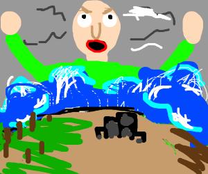 Baldi floods the world