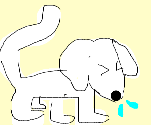 puppycat sneezing