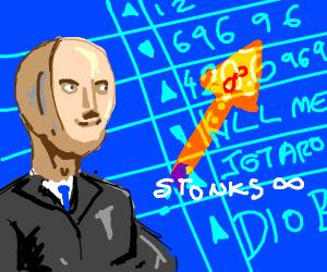 stonks x infinity.