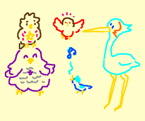 Steven Universe But they are birds