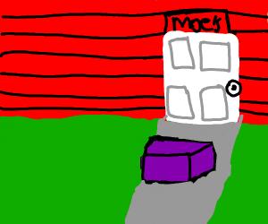 Purple box at Moe's