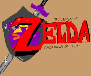 Legend of Zelda OoT boxart