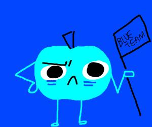 The blue team blue tomato