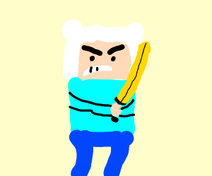Angry Finn adventure time