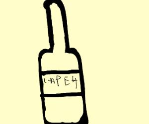 A bottle of lape4