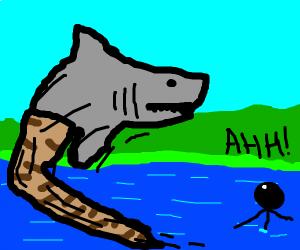 Shark snake
