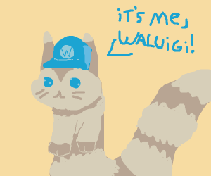 Furret tries to be a Waluigi.