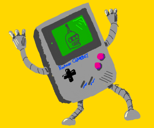 Game boy robot