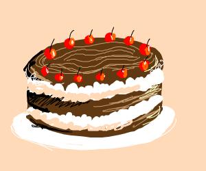 Black Forest Cherry Cake