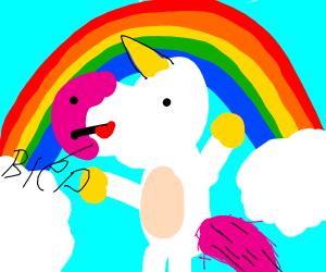 Unicorn bleps
