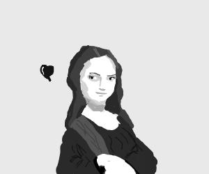 Mona Lisa has a crush on you