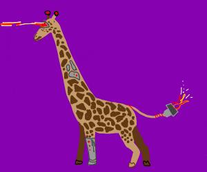 Cyborg Giraffe
