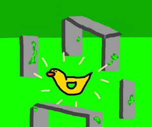 stonehenge can smell gold duck