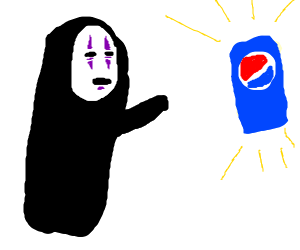 No face wants Pepsi ( spirited away )