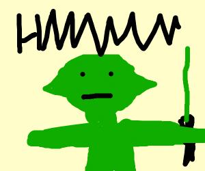 Displeased Yoda