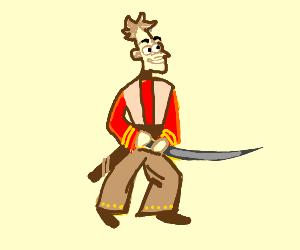 doofenschmurtz is a samurai