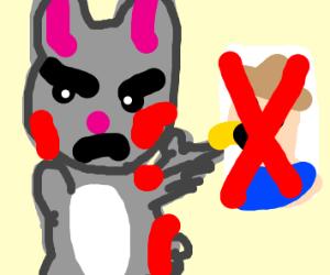 Rabbit killed Farmer Joe, claims he didn't