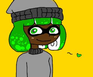 Green Inkling girl