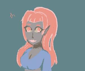 Hot anime girl